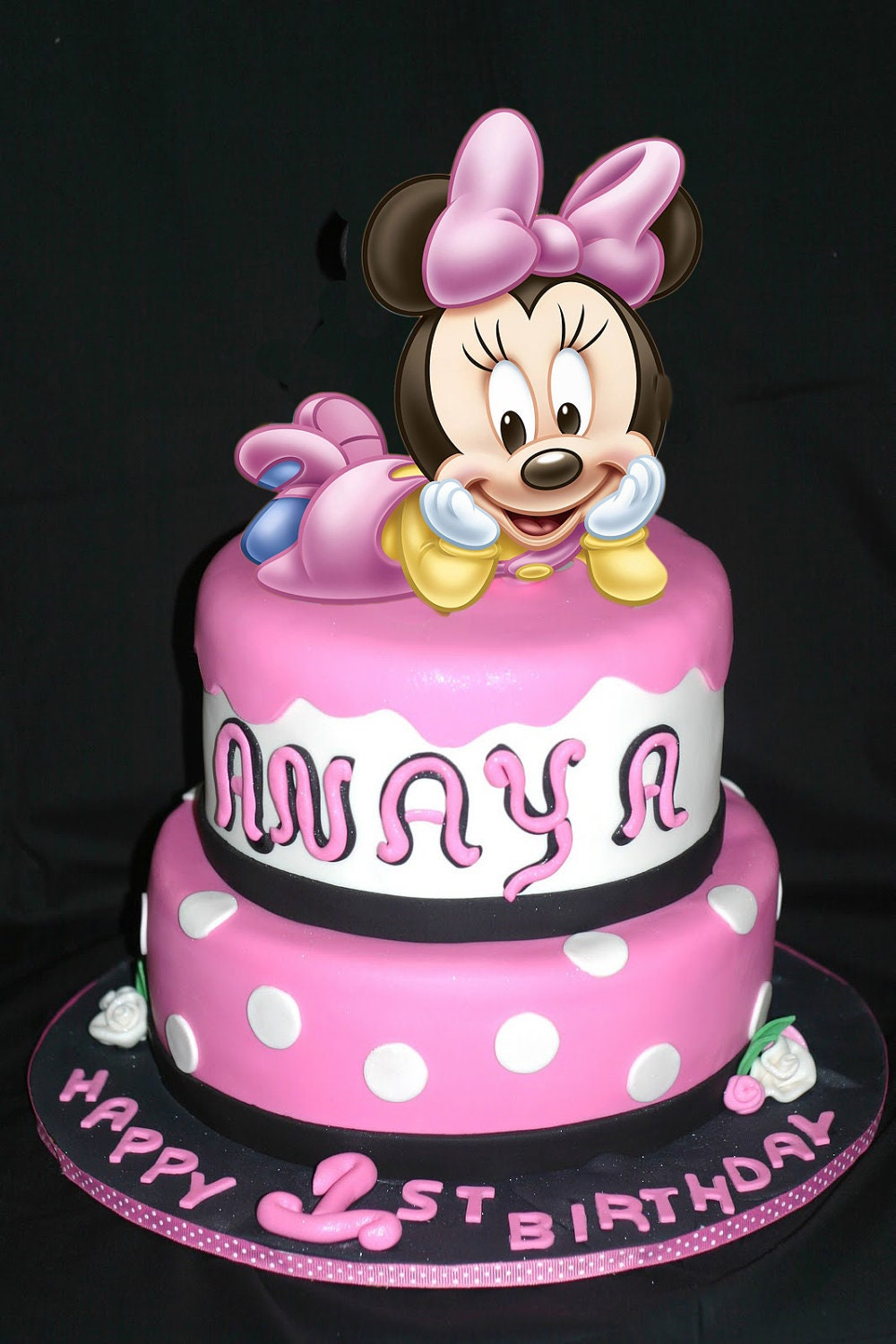Baby Minnie Mouse Cake Toppers Cake Baby Minnie Mouse Cake